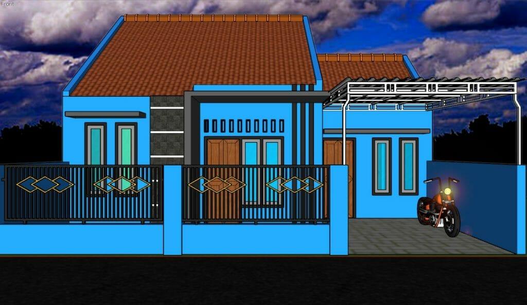 contoh Portofolio gambar rumah