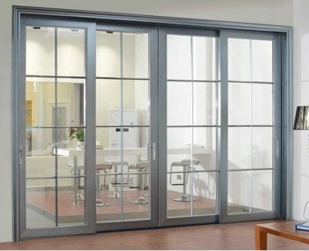 contoh harga pintu kaca aluminium