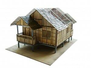 Desain Rumah Bambu dan Keuntungannya