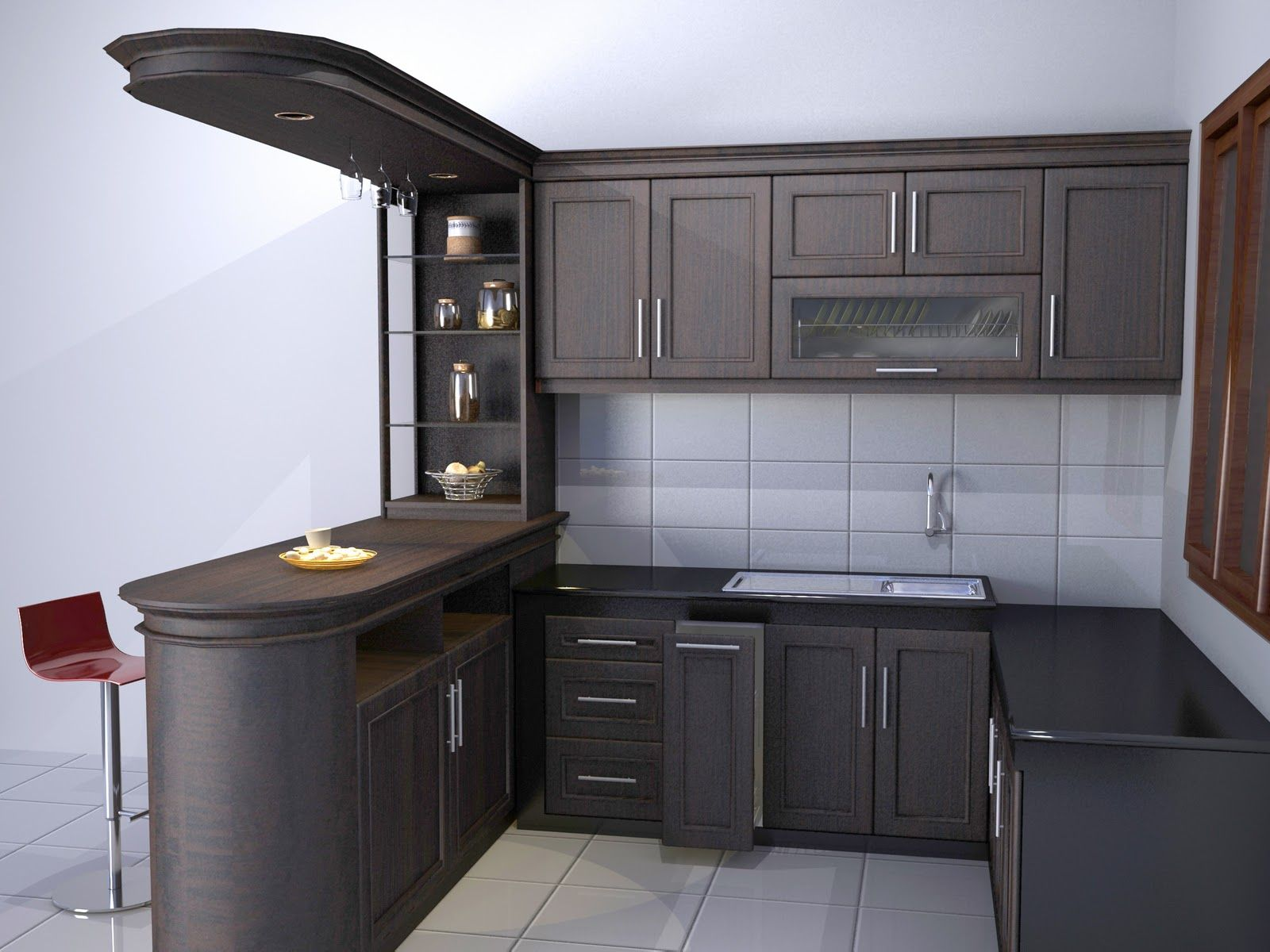 Harga Kitchen Set Per Meter Karya Tukang Jasa Pembuatan Furniture
