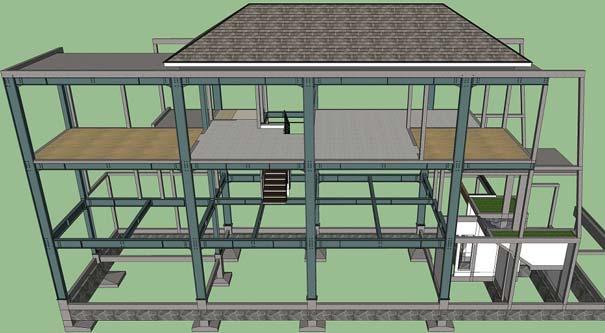 Harga Konstruksi Baja Rumah 2 Lantai